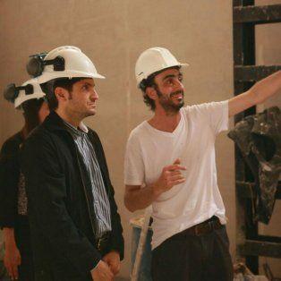 Recorrida. El ministro de Seguridad, Maximiliano Pullaro, supervisó las obras en el nuevo centro operativo.