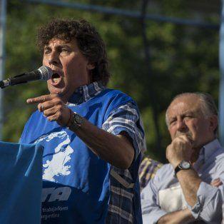 Voz. Micheli reveló que le dijo a Yasky que baje a Boudou del palco.