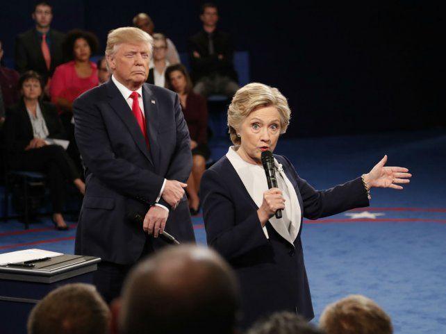 Enfrentados. En los tres debates presidenciales