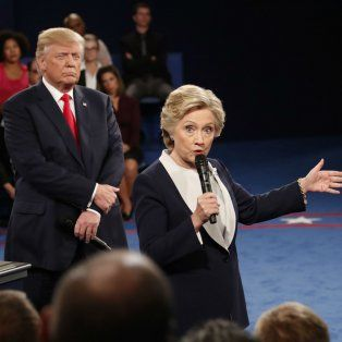 Enfrentados. En los tres debates presidenciales, los candidatos rivales tuvieron acusaciones subidas de tono.amente