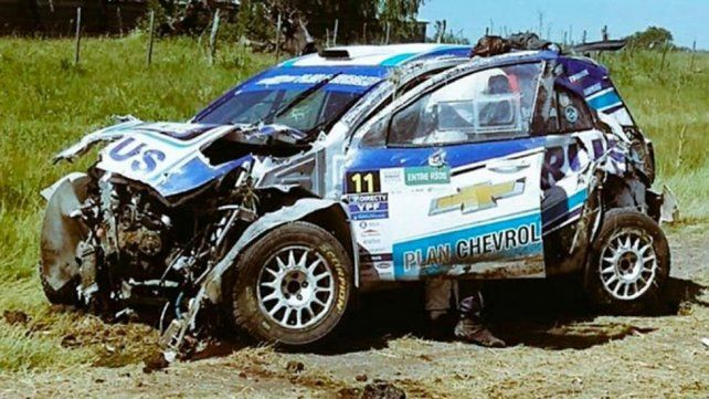 El video del terrible accidente que sufrió Nalbandian corriendo en el Rally Argentino