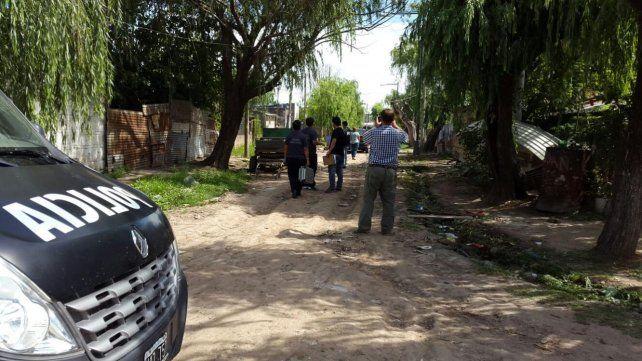 El barrio Santa Rosa de Lima tiene un alto índice de crímenes violentos.