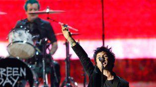 Los Green Day se llevaron una estatuilla.