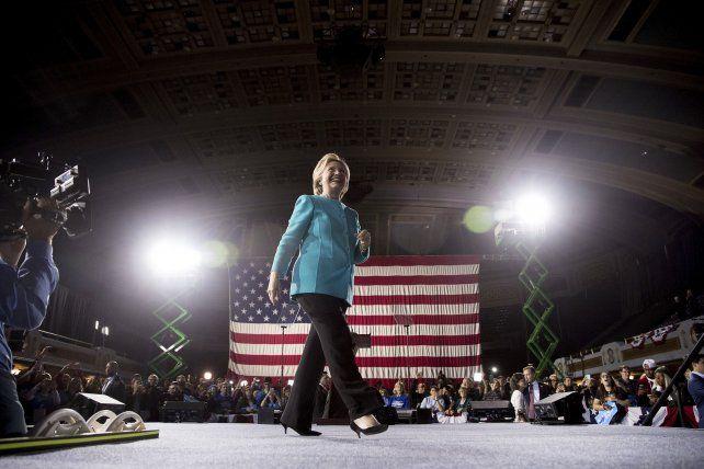 Hillary Clinton continúa su campaña a dos días de las elecciones presidenciales en Estados Unidos.