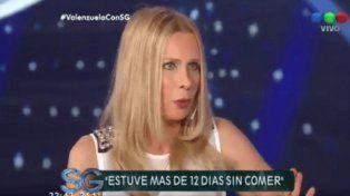 María Valenzuela, muy clonazepaneada, contó el colapso que le produjo la muerte de Gaspar