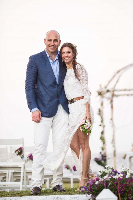 Martiniano Molina e Ileana Luetic están en pareja desde hace seis años.