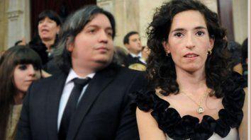 Rocío García, pareja de Maximo Kirchner.