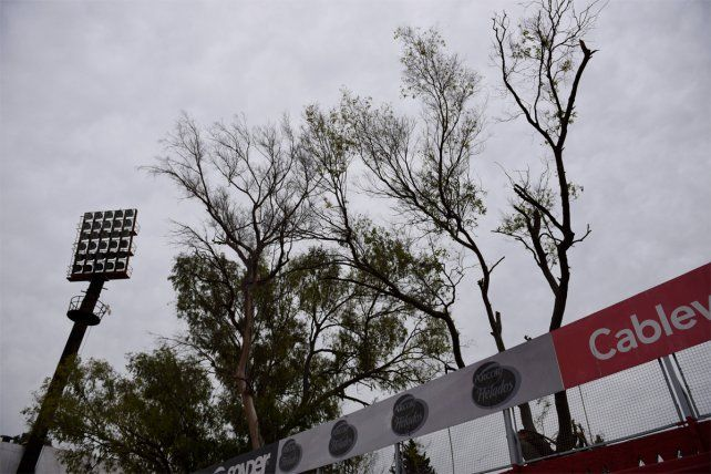 La construcción de la nueva bandeja ampliará la capacidad del estadio.