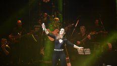 En vivo. En un recital que tuvo de todo La Sole homenajeó a Mercedes Sosa.