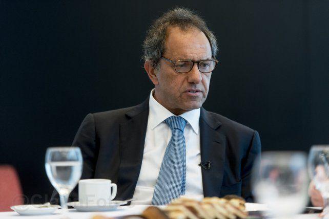 Scioli cargó contra la cúpula de la CGT