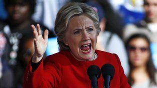 Luchadora. Hillary Clinton ayer
