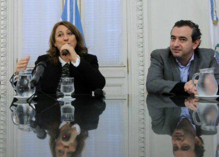 Mónica Fein y Pablo Javkin.