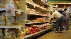 Los alimentos no sufrieron un aumento considerable, según el Cesyac.