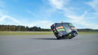 Un piloto finlandés rompió el récord Guinness de velocidad en dos ruedas