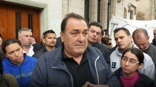 El secretario del Sindicato de Trabajadores Municipales, Antonio Ratner.