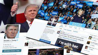 La Universidad de Californioa concluyó que un 15% de las cuentas de Twitter que debatieron en Estados Unidos fueron bots automáticos.