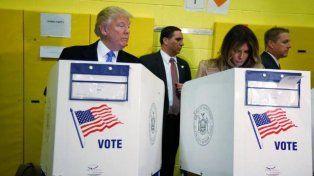 Escrachado. El candidato republicano no pudo evitar su desconfianza.