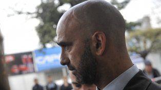 El fiscal de la Unidad de Homicidios Rafael Coria.