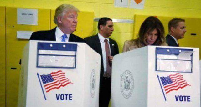 Donald Trump parece no confiar ni en su esposa