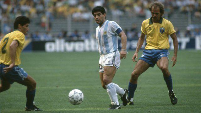 El Gran Diez. Diego Armando Maradona y su mejor amiga