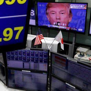 caen las bolsas en todo el mundo tras la victoria de trump  en las elecciones norteamericanas