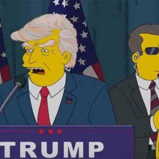 cuando los simpson predijeron que donald trump iba a ser presidente de estados unidos