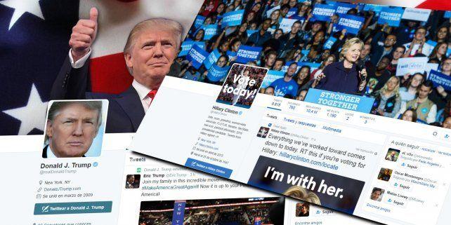 Los Bots que apoyaron por Twitter a Trump distorsionaron el respaldo real al candidato