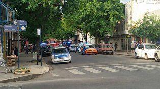 La comisaría que está en Caferatta al 300 tuvo un gran operativo policial tras el motín de los reclusos.