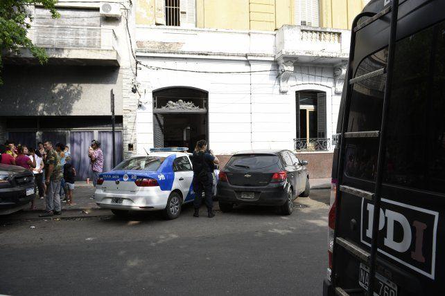 Hubo un gran despliegue policial en la comisaría 7ª.