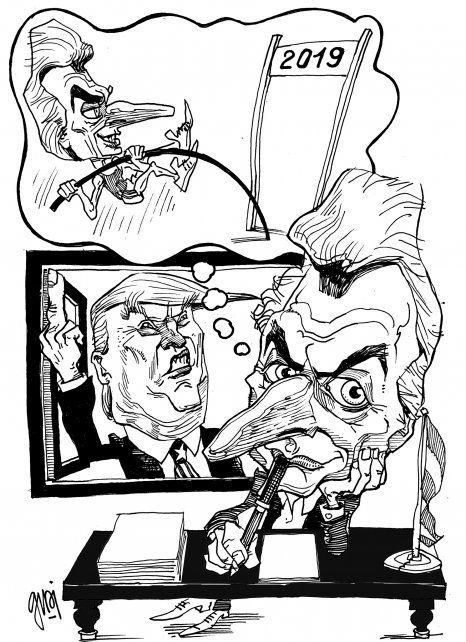 El huracán Trump puso todo patas para arriba