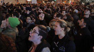 Las marchas comenzaron menos de 24 horas después de conocerse el nombre del futuro presidente de Estados Unidos.