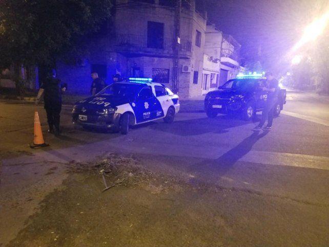 Operativo policial desarrollado tras el ataque a balazos al vicepresidente segundo de Newells.