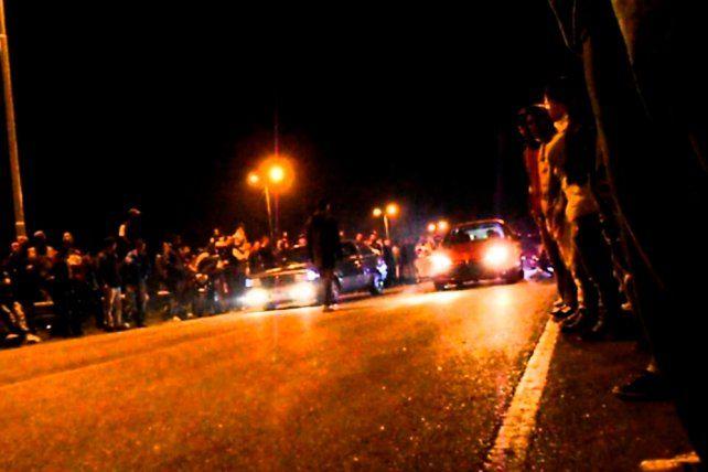 Rosario se convirtió en tierra de picadas clandestinas durante el paro de municipales
