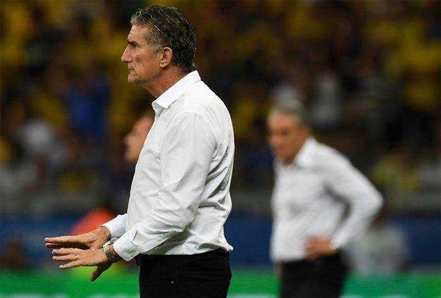 El Patón Bauza señaló que fue una derrota durísima la sufrida ante Brasil.