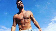 Ricky Martin hizo una alto en su gira One World Tour para disfrutar de un día de playa en una isla paradisíaca.