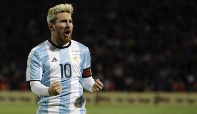 El capitán del seleccionado argentino de fútbol