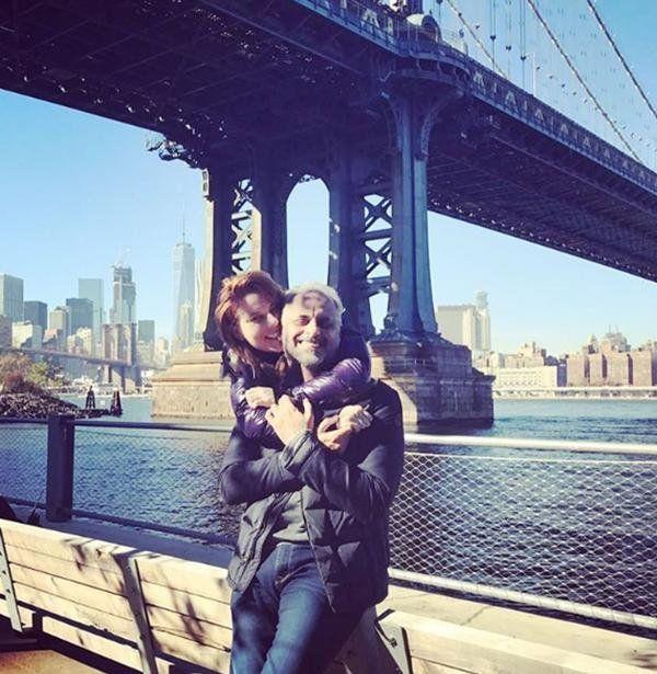 Jorge Rial y Agustina Kämpfer compartieron postales de su luna de miel en Nueva York