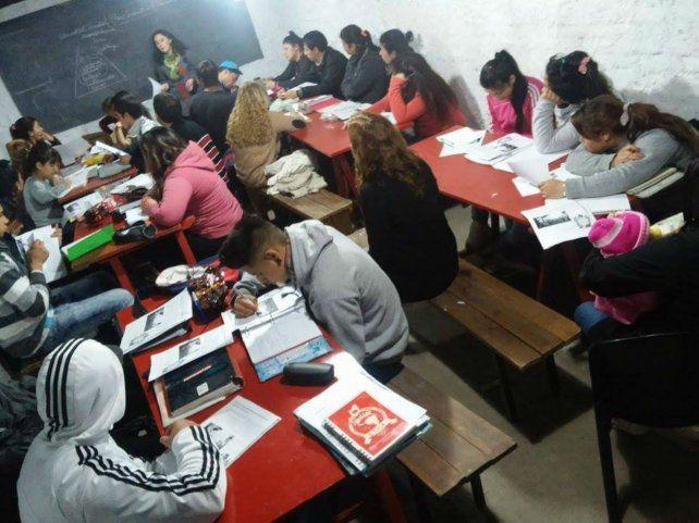 Etica. En Nuevo Alberdi funciona desde 2011 un secundario de gestión social.