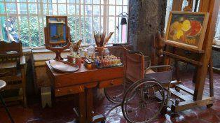 La silla de ruedas y el espejo