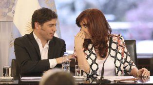 En problemas. Cristina y Kicillof