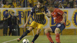 Firme. Martínez aseguró que el bajón futbolístico ante Independiente fue por el desgaste contra Boca.