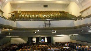 El teatro donde ocurrió el conmovedor episodio.