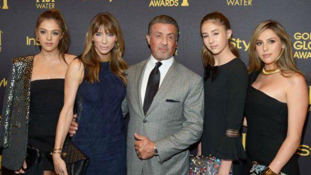 Stallone en familia