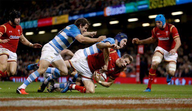 Los Pumas lucharon pero no pudieron ante Gales en Cardiff.