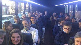 Una nutrida comitiva de legisladores argentinos fueron de veedores en las elecciones de Estados Unidos.