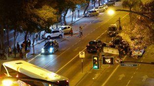 El choque se produjo en la zona de Alberdi y French.