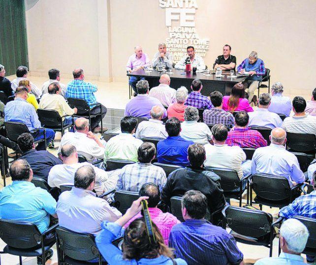 REUNIÓN. El último plenario de delegados se realizó hace dos semanas.
