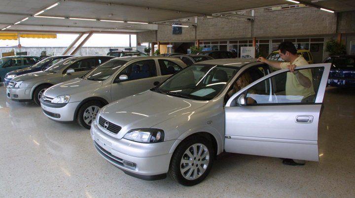 Cayó un 2,49 por ciento la venta de autos usados