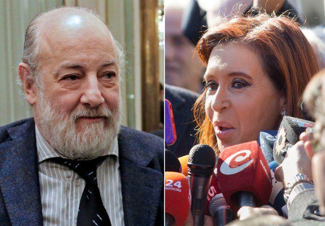 Bonadio se negó a hacer futurología sobre la situación de la expresidenta.