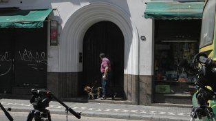 Monserrat I. El cuerpo de Nicolás Silva yacía en el departamento 4º A del edificio de Venezuela 1218